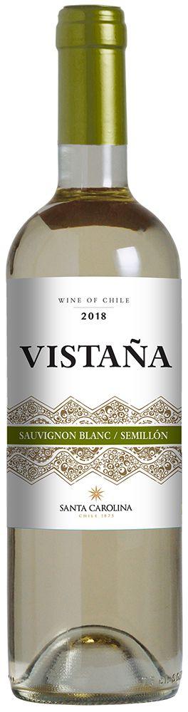 Vinho Vistaña Santa Carolina Sauvignon Blanc e Semillon