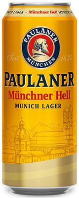Cerveja Paulaner Münchner Hell 500 ml