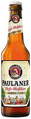 Cerveja Paulaner Hefe-Weissbier Naturtrub 330 ml