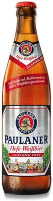 Cerveja Paulaner Hefe Weissbier Alkoholfrei (sem álcool) 500 ml