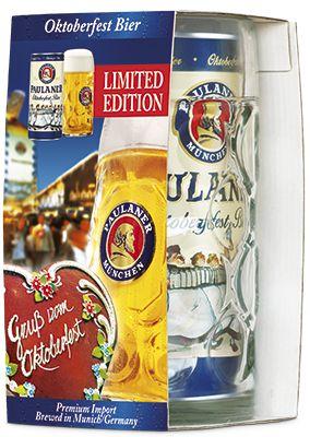 KIT Paulaner Oktoberfest com 1L de cerveja + 1 caneca de 1L