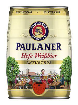 Cerveja Paulaner Hefe-Weissbier Naturtrub 5 Litros