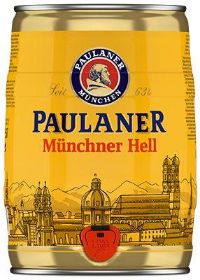 Cerveja Paulaner Original Munchner Hell 5 Litros