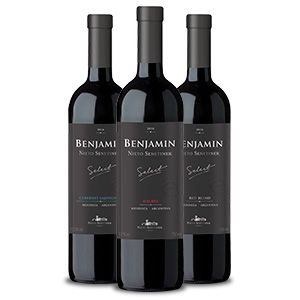 Kit Vinhos Benjamin Nieto Select: Malbec, Cabernet Sauvignon e Red Blend