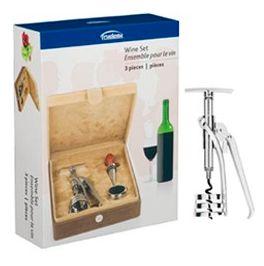 Kit de Camurça para Vinhos com 3 peças