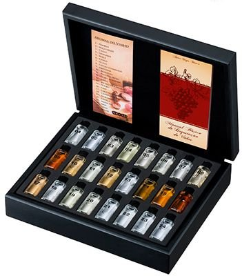 Kit 24 Aromas do Vinho