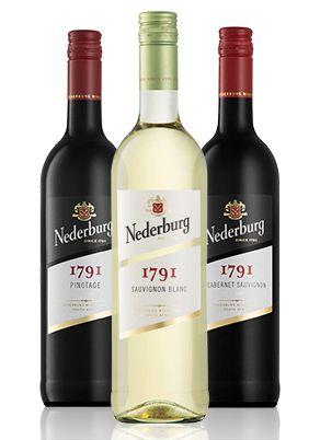 Kit Nederburg 1791 Pinotage +  Cabernet Sauvignon +Sauvignon Blanc