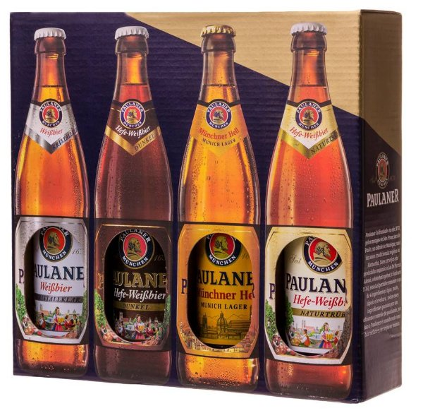 Kit Paulaner 4 garrafas de 500 ml