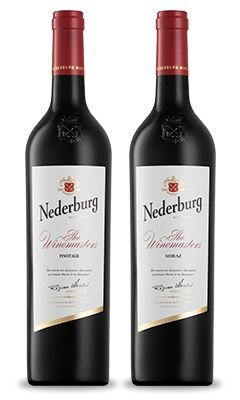 Confraria de Maio Especial das Mães : Nederburg Winemaster's Reserve: Pinotage + Shiraz