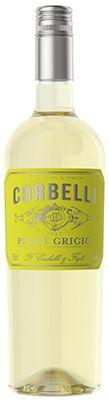 Vinho Corbelli Pinot Grigio Terre Siciliane IGT