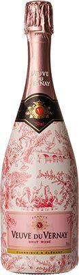 Espumante Veuve Du Vernay Brut Rose Edição Limitada