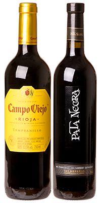 Confraria Julho 2020: Campo Viejo Tempranillo + Pata Negra Tempranillo e Cabernet Sauvignon