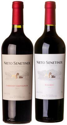 Confraria Fevereiro 2021: Vinho Nieto Senetiner Estate Bottled Malbec + Estate Bottled Cabernet Sauvignon