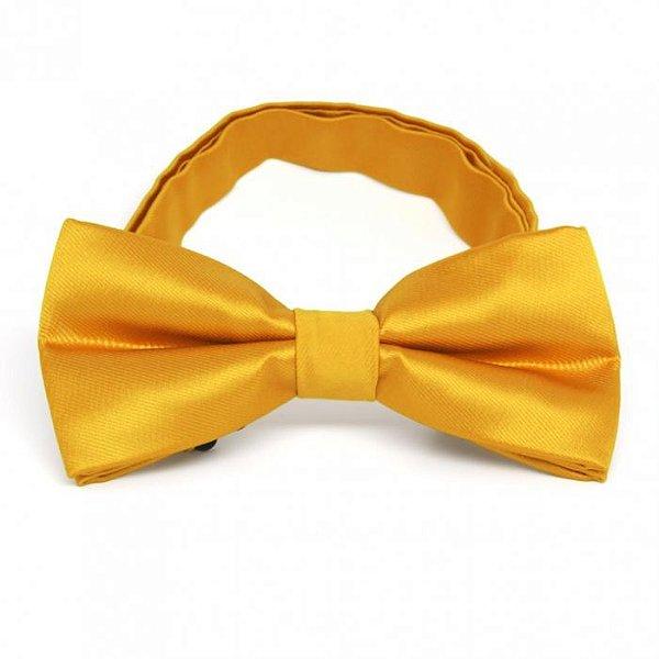 Gravata Borboleta Dourado