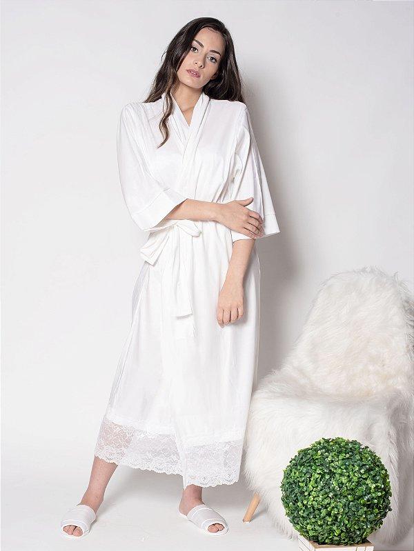 Robe Romantic -  Longo com Renda
