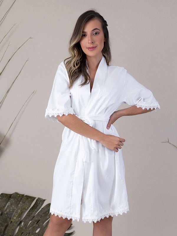 Robe Classic Branco