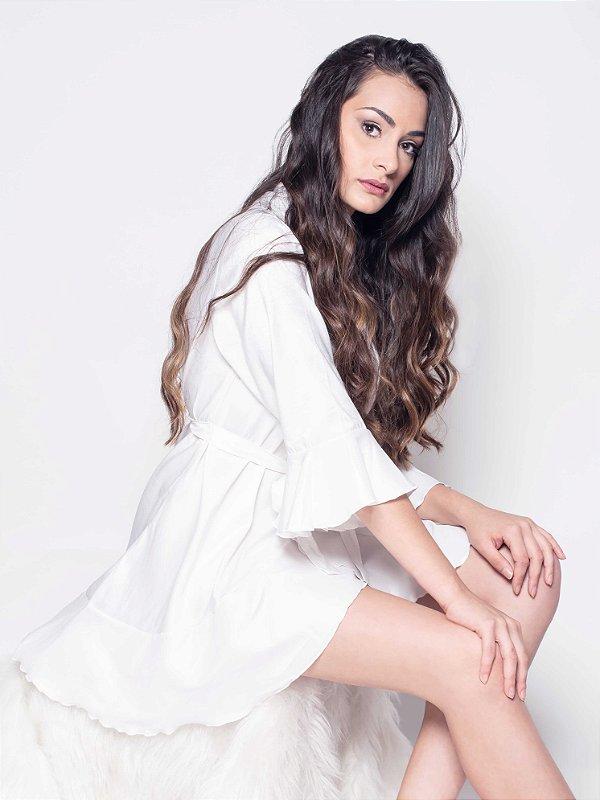 b98522778eb Robe Jasmine Branco - Maior portal de robes personalizados