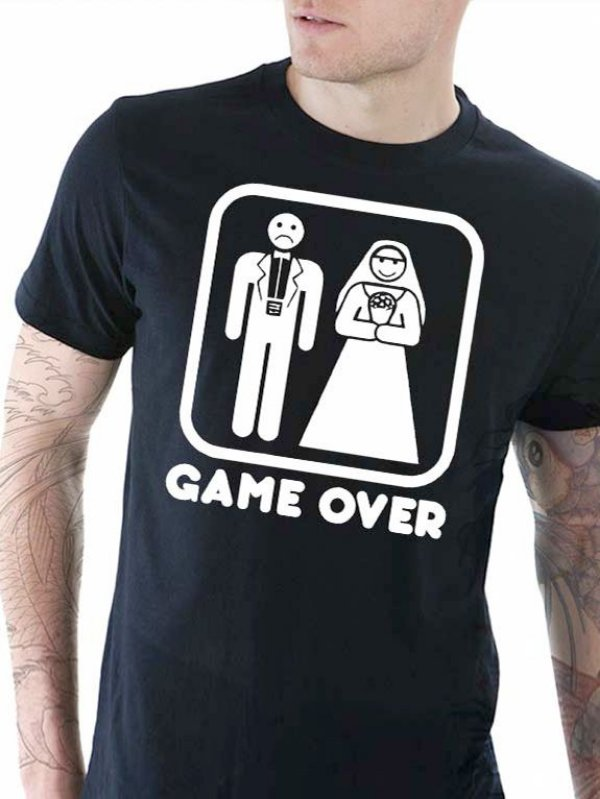 Camisa Game Over