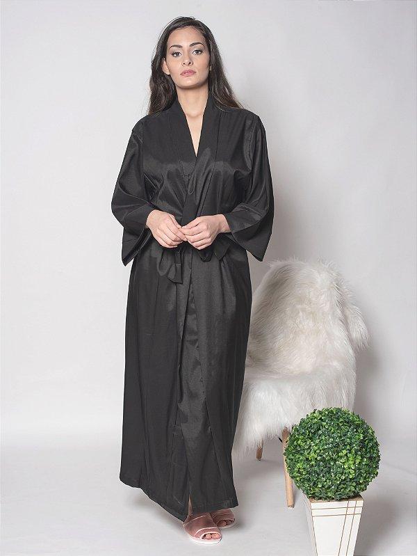 Robe Tradicional Longo - Preto