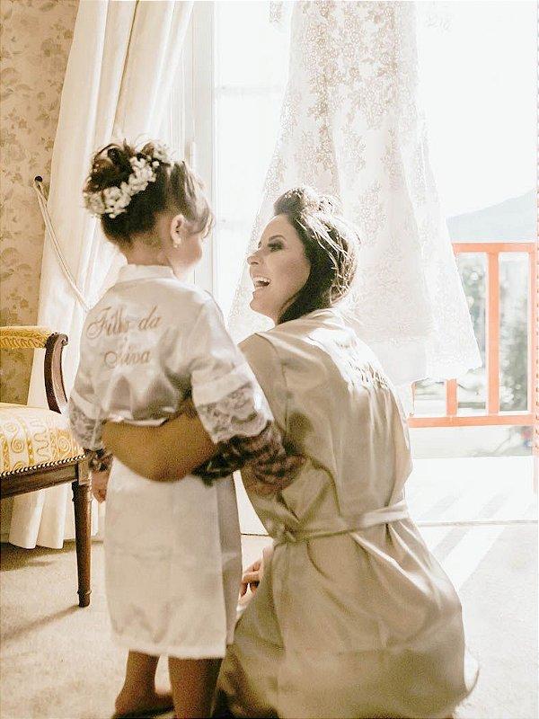 Robe Sereninho - Infantil com Renda