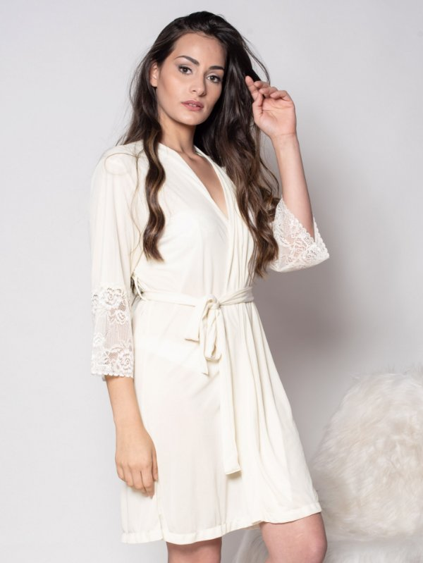 Robe Zahrah - Off White