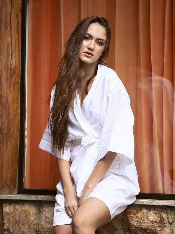Robe Tradicional Opaco - Branco