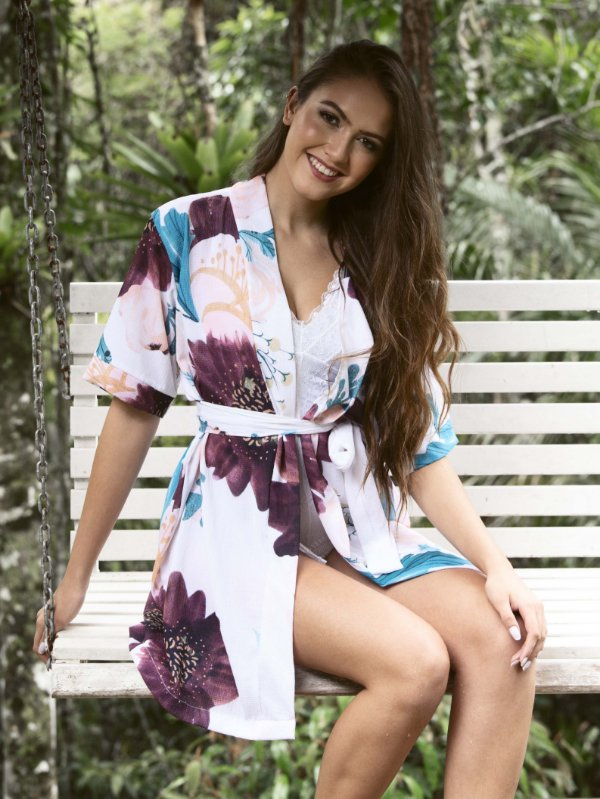 Kimono Ruby Mauve