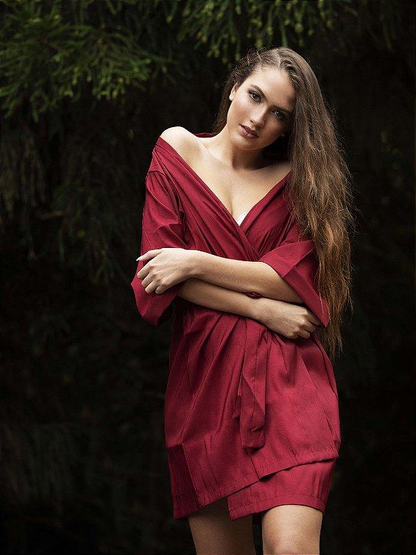 Robe Tradicional Opaco - Marsala