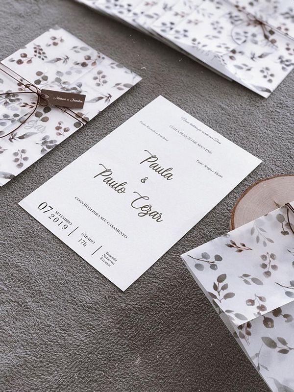 Convite Autumn