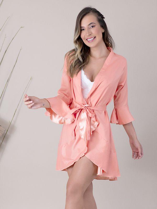 Robe Jasmine Cantaloupe