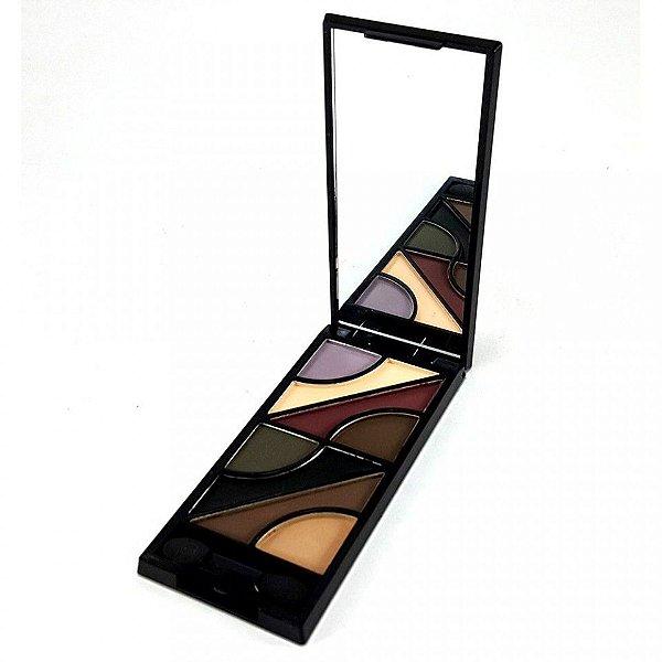 Paleta de Sombras matte Wave Colors Luisance L768