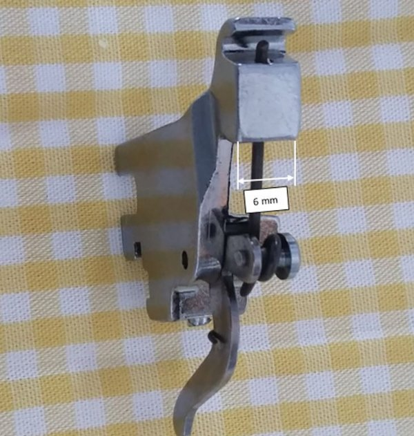 Haste/ Suporte do Pé Calcador Alta - Máquina Industrial