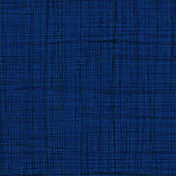 Tecido Tricoline Textura Riscada Marinho - Coleção Neutro Tom Tom - Preço de 50 cm x 150 cm