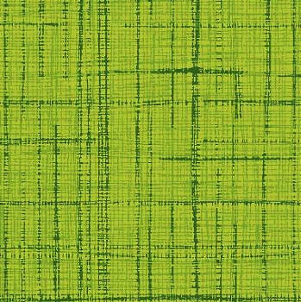 Tecido Tricoline Textura Riscada Verde Limão- Coleção Neutro Tom Tom - Preço de 50 cm x 150cm