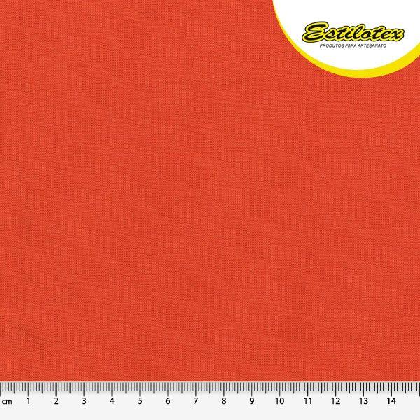 Tecido Tricoline Lisa na Cor Laranja - Preço de  50 cm x 150 cm