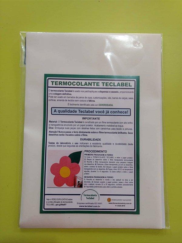 Termocolante Definitivo TecLabel A4 - 12 folhas