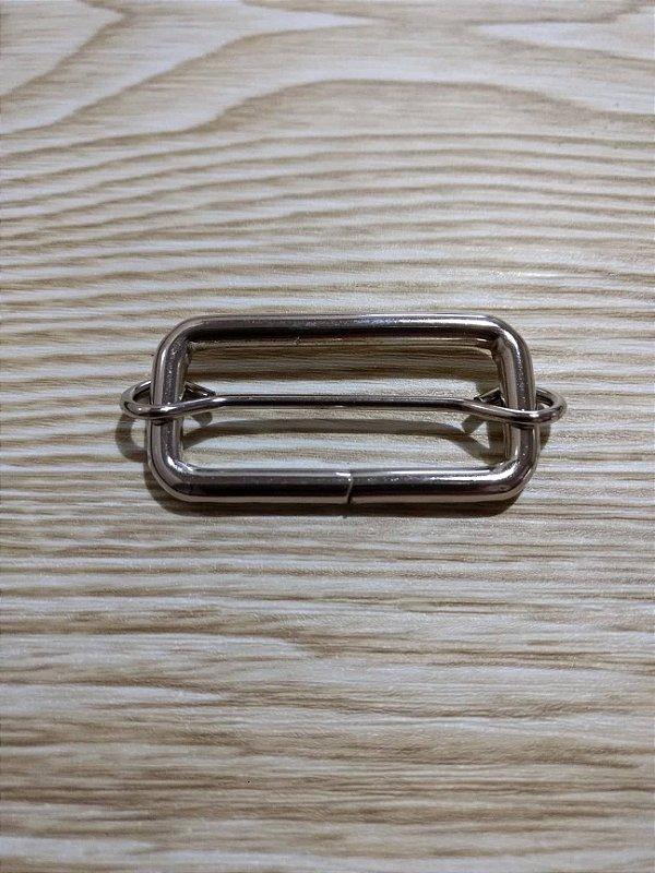 Regulador de Alça de Bolsa - Prata - 4 cm x 1,5 cm - Preço Unitário