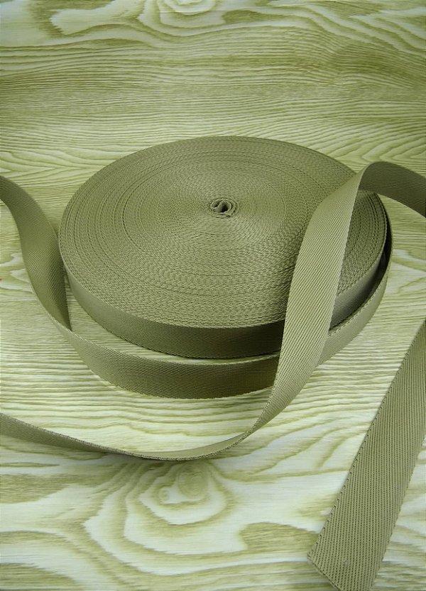 Alça Chic Para Bolsa de Poliéster Bege - 3 cm - Preço de 3cm x 50cm