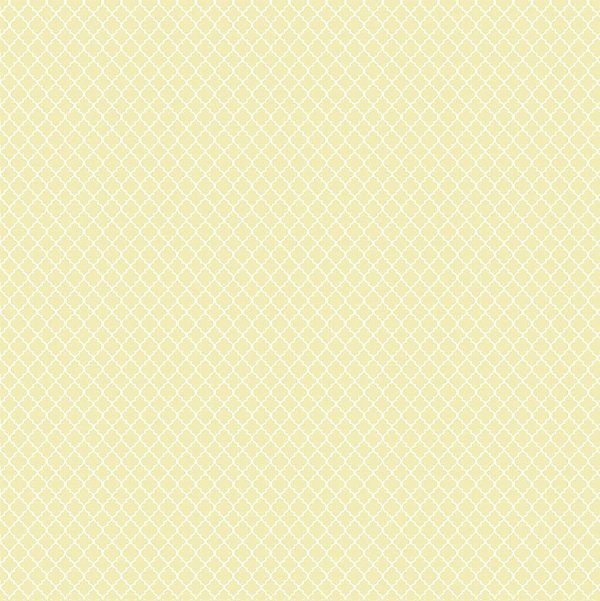 Tecido Tricoline Mini Vitral Treliça - Creme - Preço de 50 cm x 150 cm