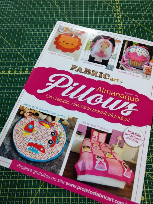 Revista Almanaque Pillows - Fabricart
