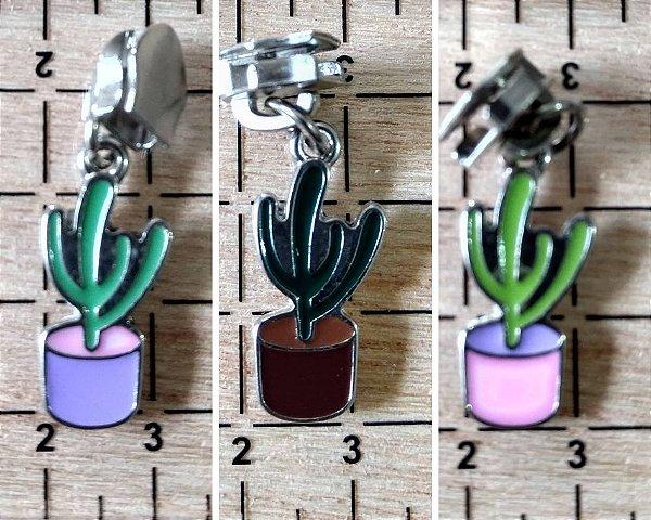 Cursor com Pingente Nº 5 - Prata - Cactus