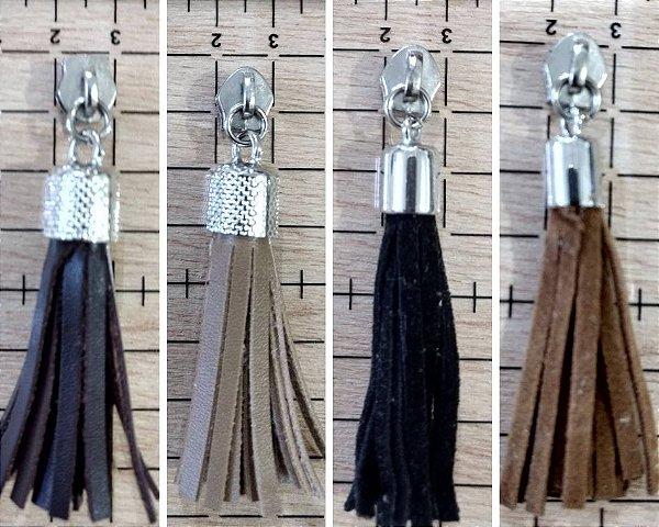 Cursor Tessel Nº 5 - Pendão ou Franjinhas de Couro - 4cm