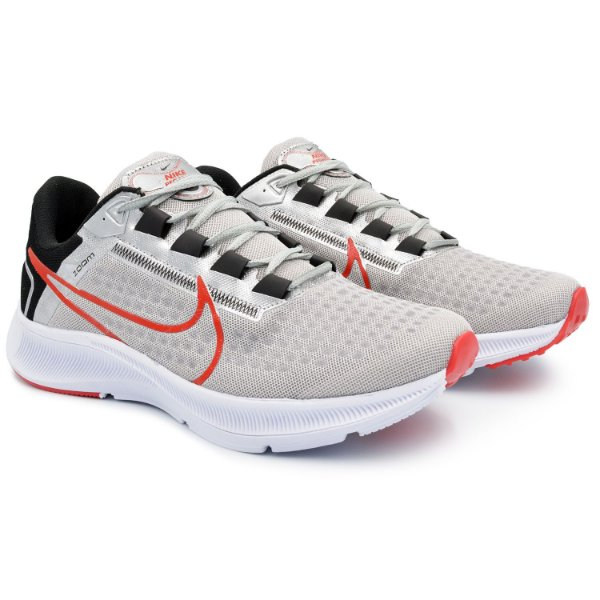 Tênis Masculino Caminhada Esportivo Nike Air Zoom Pegasus 38 - Cinza/Preto