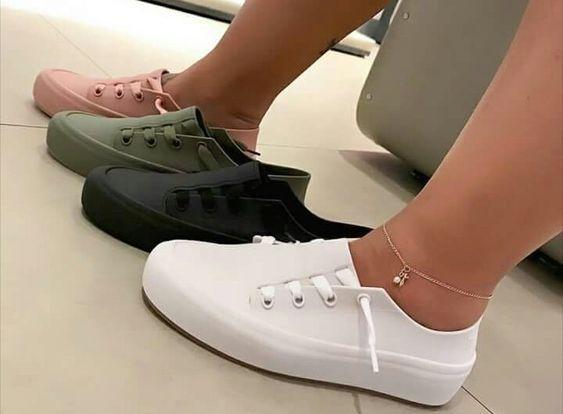 Tênis Sapatênis Casual Dia-a-Dia Melissa Ulitsa Sneaker Várias Cores
