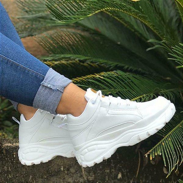 Tênis Feminino Sneaker Cano Médio Plataforma Platform Flatform Buffalo – Moda de Inverno Para 2020