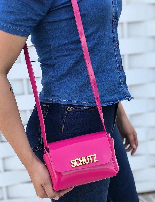 Bolsa Feminina de Ombro Schutz Mini Cross Bag - Pink