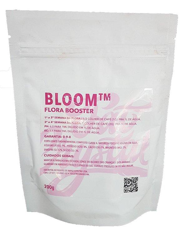 Fertilizante Fat Crystal Bloom 200g Flora Booster