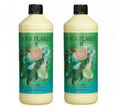 Fertilizante Aqua Flakes A + B