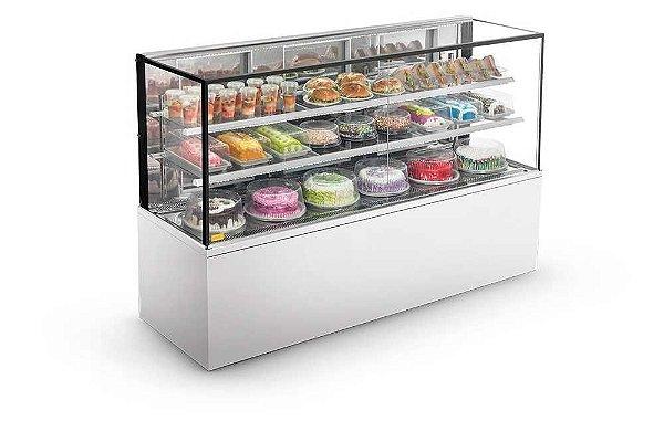 Confeitaria Refrigerada New Titanium 2,00mt - CRNT 2000 - 220V - Refrimate.