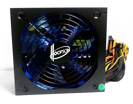 Hoopson 650W Power Supply fonte real